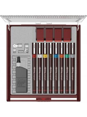 Set 8 Isograph 8 - 0.18/0.25/0.35/0.5/0.7/1.0/1.4/2.0 Comfort Rotring S0958760