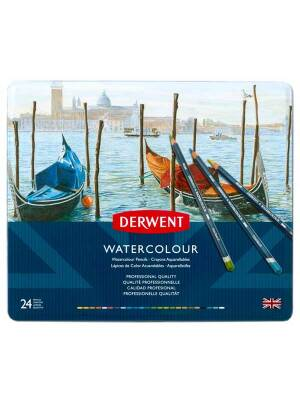 Set 24 creioane Derwent Watercolour