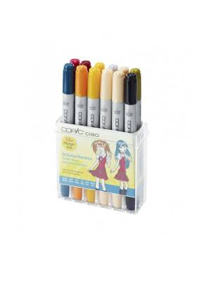 Set 12 markere Manga Trendy Teens Copic Ciao 22075712