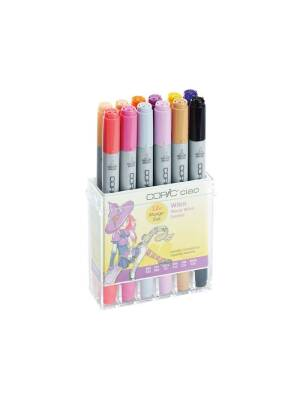 Set 12 markere Manga Wendy Witch Copic Ciao 22075713