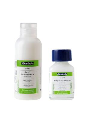 Medium fluid satin-mat acrilic Schmincke 50553